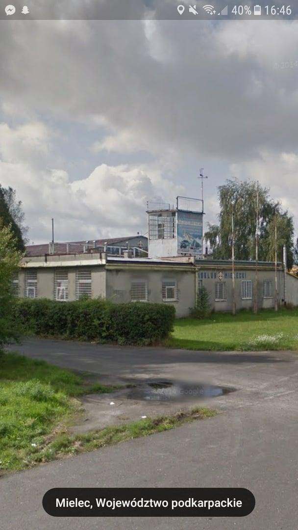 Stara wieża lotnicza Mielec