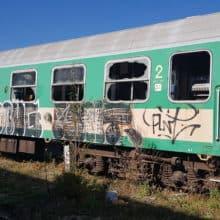 Tabor wagonów towarowych Lublin