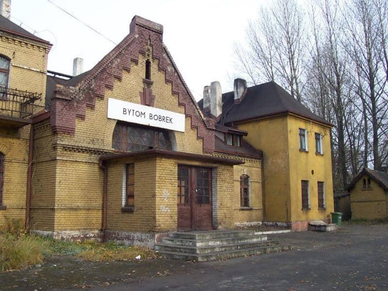 Bytom Bobrek Stacja PKP Bytom