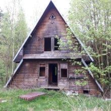 Tarka opuszczony ośrodek wypoczynkowy Jaworzno