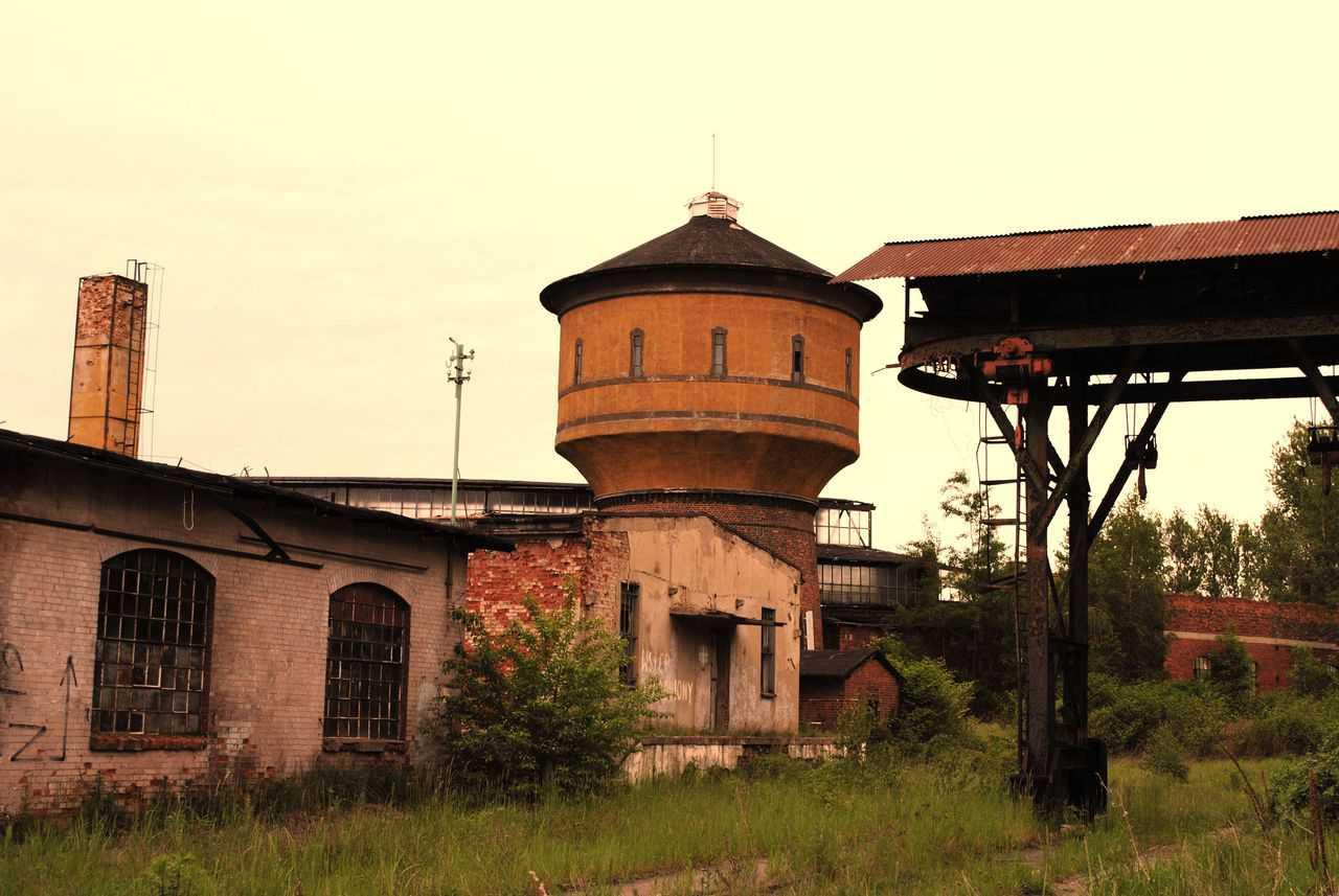 Pyskowice budynki kolejowe Pławniowice