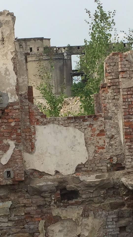 Opuszczony i zdemolowany dom Jaworzno