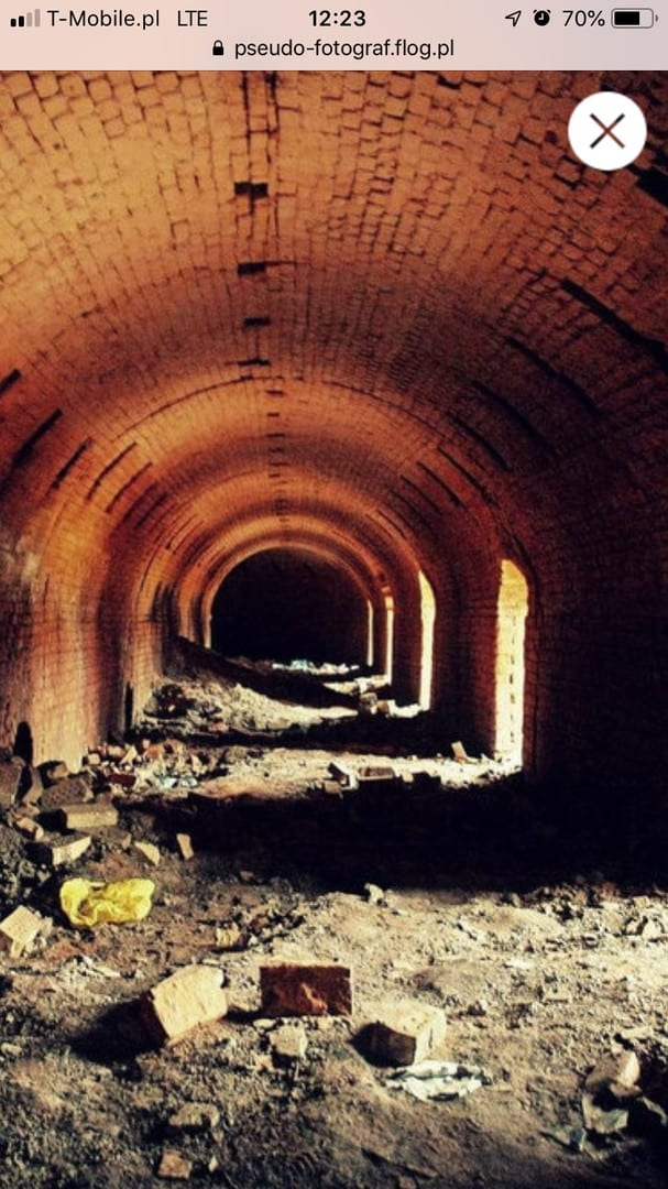 Opuszczona cegielnia Patok