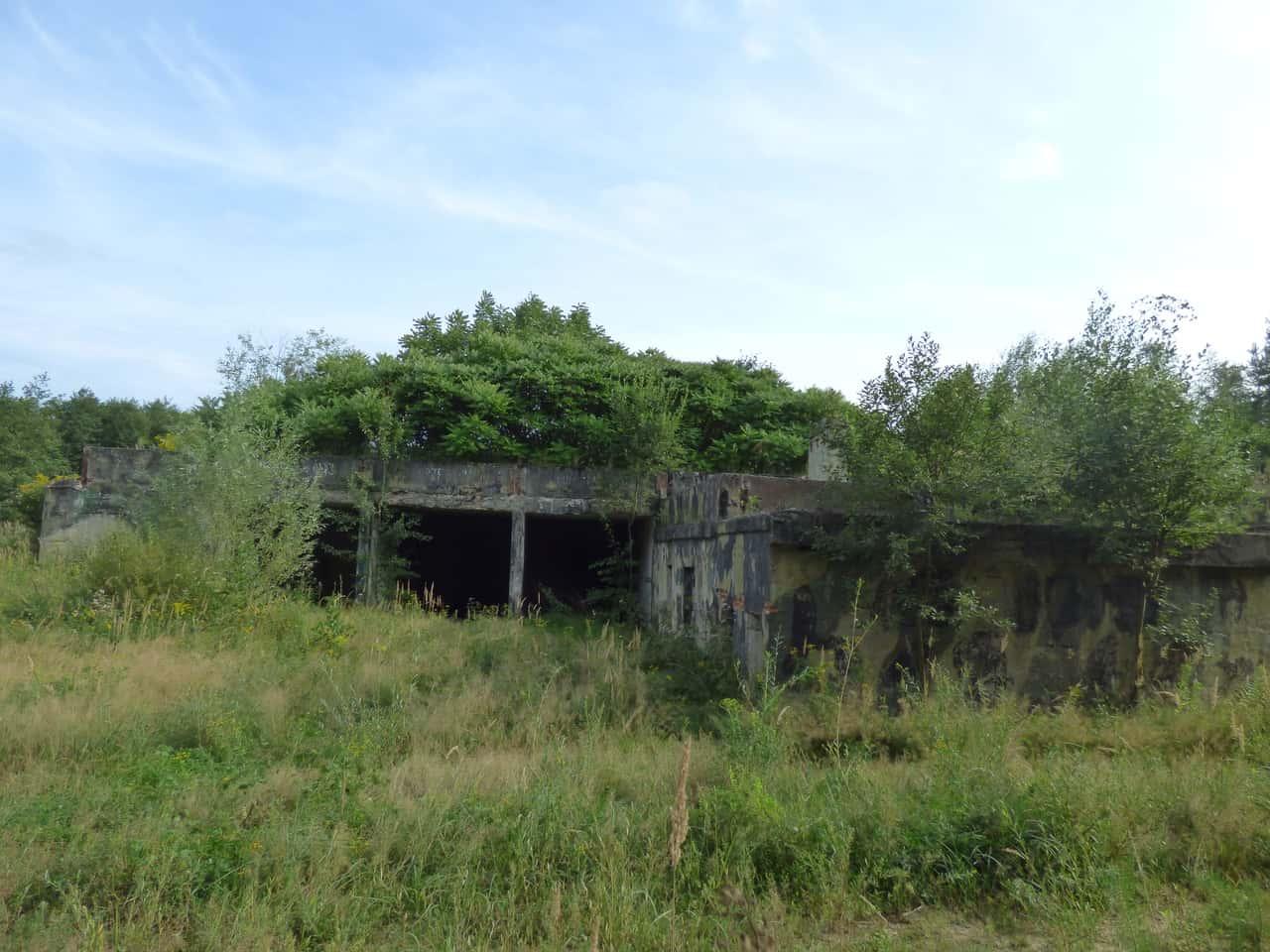 Opuszczona jednostka rakietowa Czarków