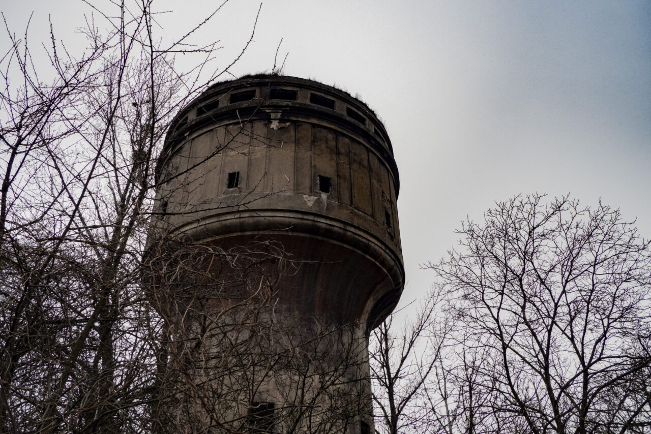 Wieża ciśnień na Kolberga Gliwice