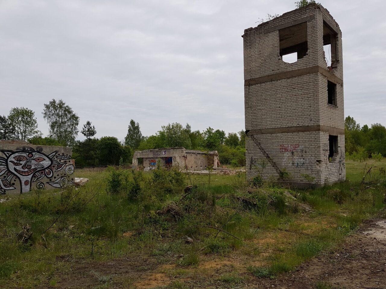 Opuszczona Strzelnica Częstochowa