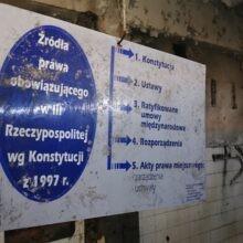 Opuszczona bursa szkolna Katowice