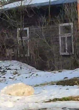 Opuszczony Dom Przy Krzyżu Kłobuck