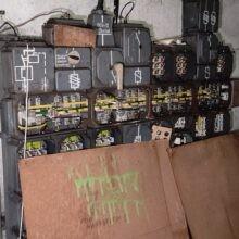 opusczona elektrociepłownia Będzin