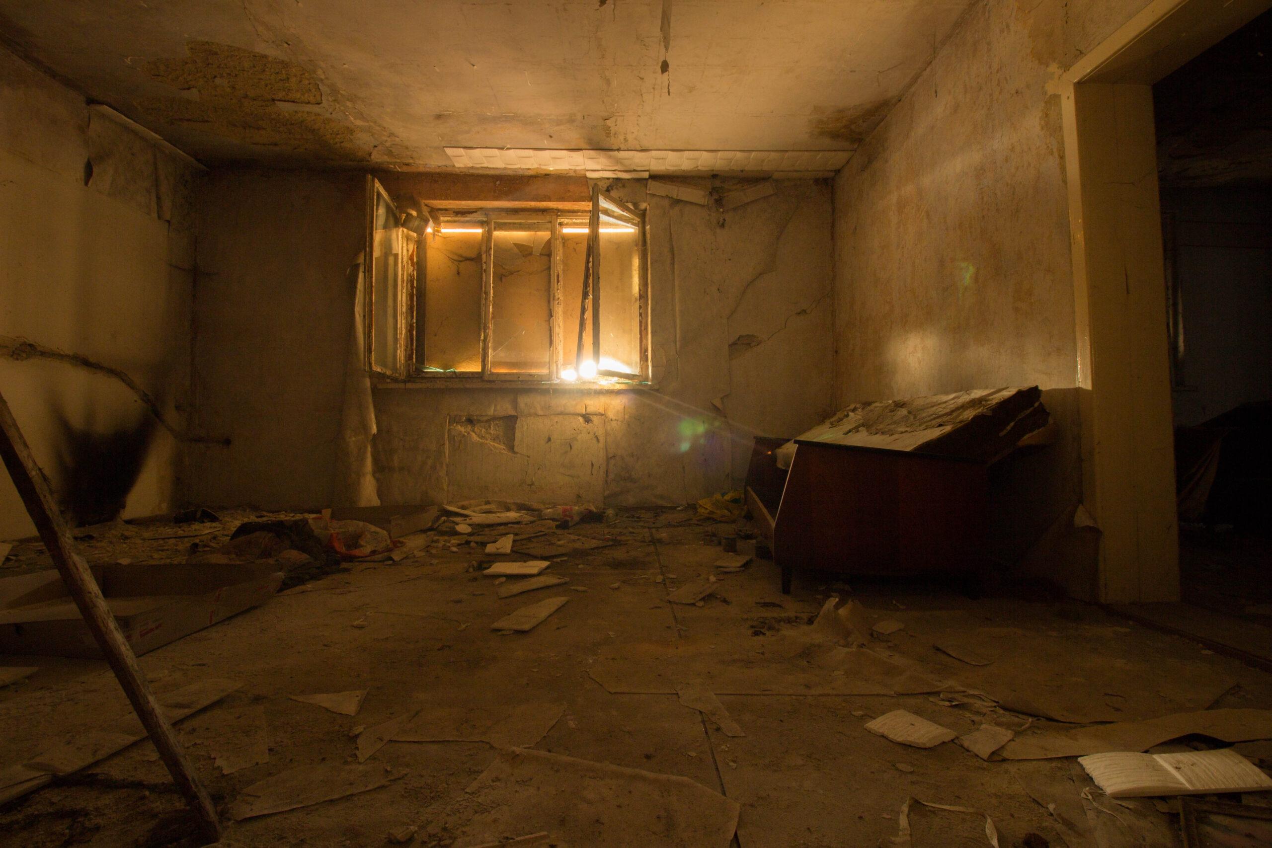 Opuszczony dom z przybudówką Bieruń