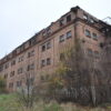 Stare zabudowanie gospodarcze Osłonino