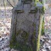 Pozostałości po niemieckim cmentarzu Tkaczewska Góra