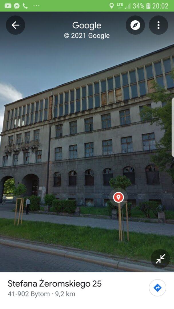 Dawny budynek komitetu PZPR w Bytomiu Bytom