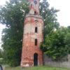 Wieża widokowa z XIX w.  Warszyn. Sułkowo
