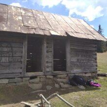 Opuszczona stodoła Milówka