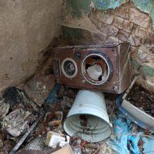 Opuszczony dom przy rynku Bieruń