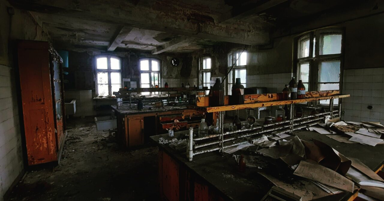 Opuszczone Laboratorium Kalety