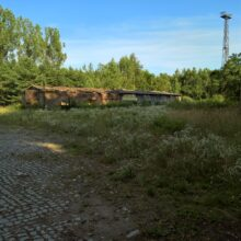 Opuszczony zaklad produkcyjny Imielin